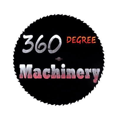 360 Degree Machinery Company Logo