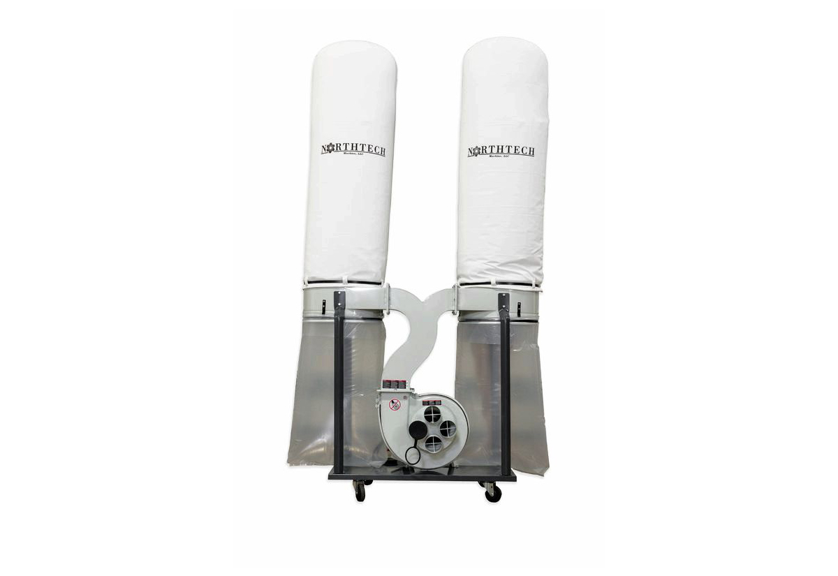 Northtech NT DC50-3-532 5 HP Dust Collector 230V